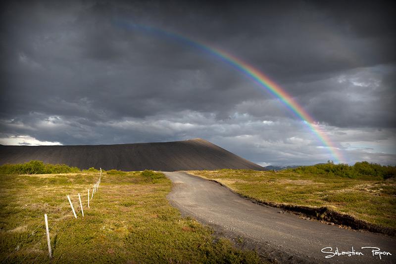Hverfjall, Islande
