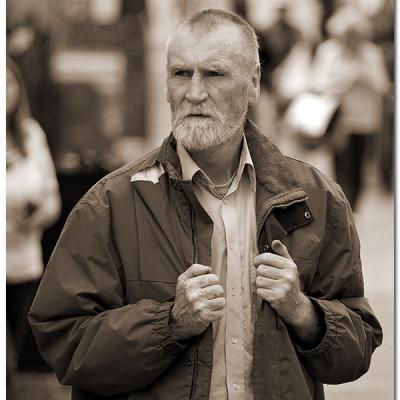 Old Irish Man