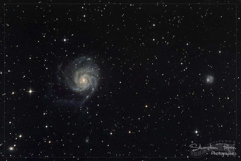 M101 - Galaxie du moulinet
