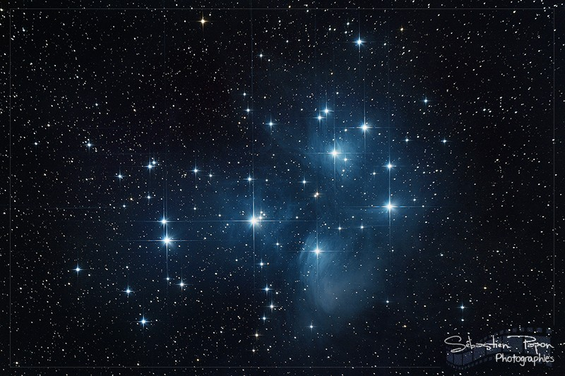 M45 - Les Pléiades