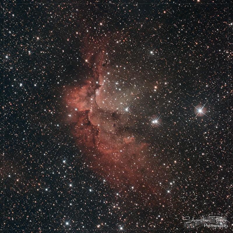 NGC 7380 - Nébuleuse du sorcier